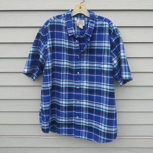 St. John's Bay Button Down Short Sleeve Men XL